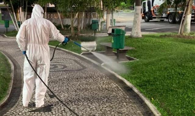 Desinservice fará limpeza dos pátios, ruas e calçadas da UPA, do HCB e de posto e saúde