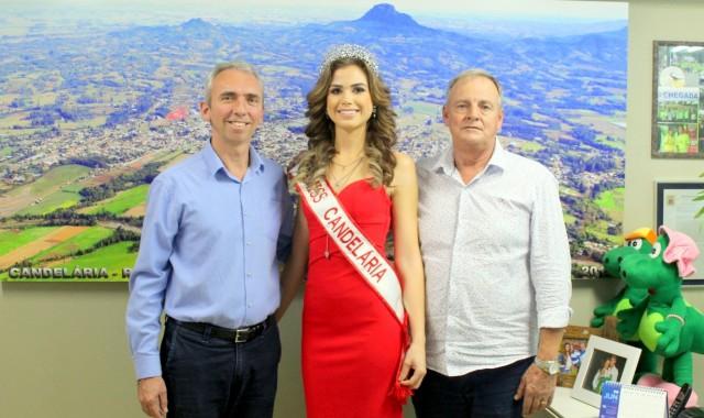 Ex princesa do Municipal vai representar Candelária em concurso estadual