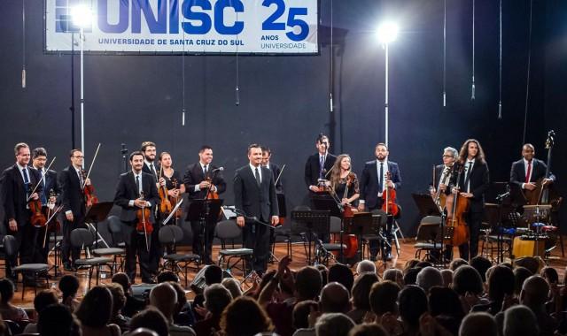 Orquestra da Unisc realiza concerto de inverno