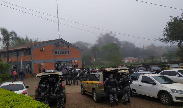 MP faz megaoperação contra o tráfico em Cachoeira do Sul