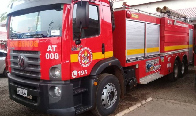Família causa incêndio na residência ao acender lareira em Caçapava do Sul