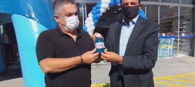 Rede de Farmácias São João inaugura mais uma filial.