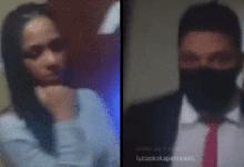 Lucas Penteado flagra traição da noiva e mostra o momento em live