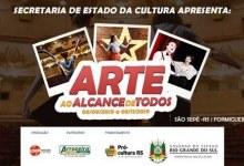 Projeto Arte ao Alcance de Todos será desenvolvido em São Sepé
