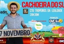 JP E GVC trazem Badin, o Colono para  Cachoeira do Sul