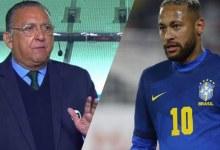 Galvão Bueno dispara um 'idiota' e web diz que foi para Neymar