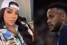 Estudando nos EUA, Ludmilla tira onda ao telefonar para Neymar
