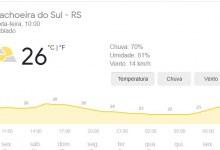 Rio Grande do Sul mantém alerta para temporais no fim de semana
